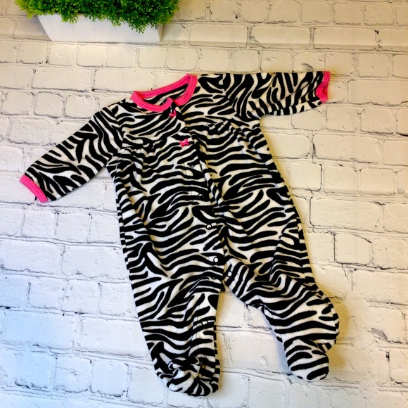 Carters animal print pajamas Footie Jammies baby